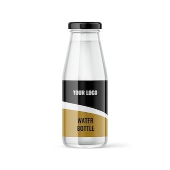 Maquette de bouteille d'eau maquettes exclusives pour la conception de marques et d'emballages