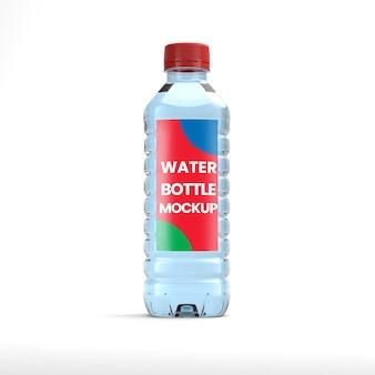Maquette de bouteille d'eau minérale