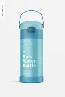 Maquette de bouteille d'eau pour enfants de 12 oz