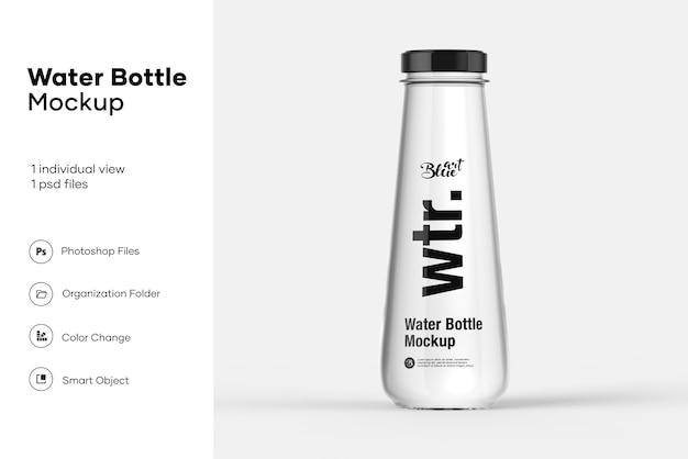 Maquette de bouteille d'eau
