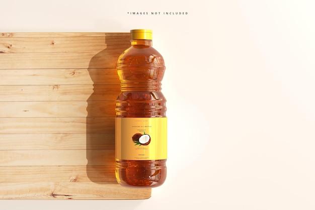Maquette de bouteille d'huile de cuisson