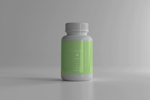 Maquette de bouteille de médecine