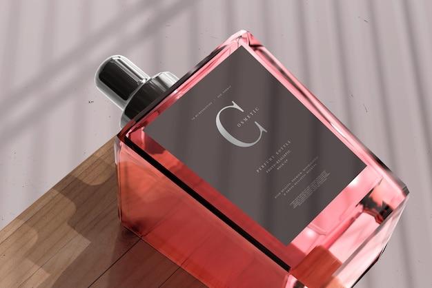 Maquette de bouteille de parfum