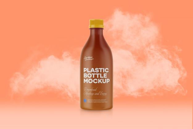 Maquette de bouteille en plastique