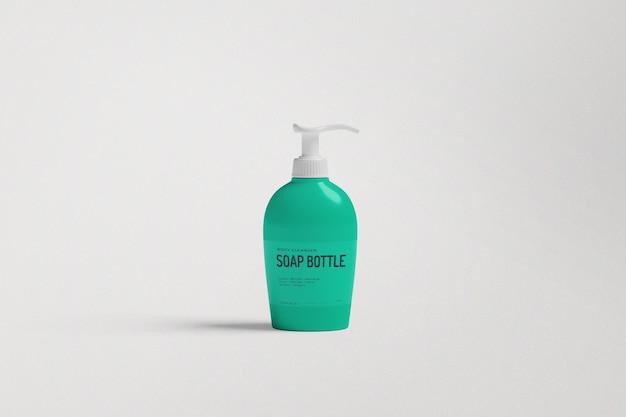 Maquette de bouteille de savon