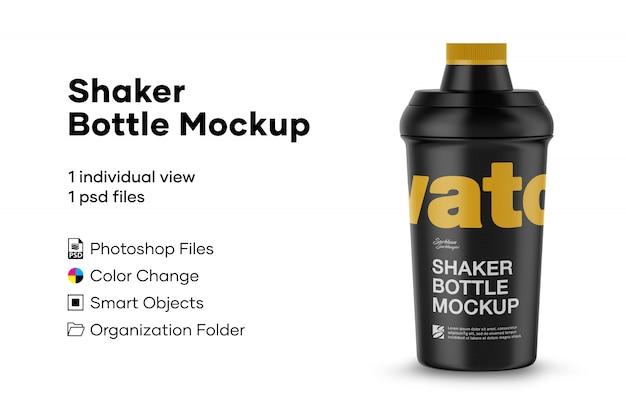 Maquette de bouteille de shaker