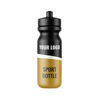 Maquette de bouteille de sport maquettes exclusives pour la conception de marques et d'emballages