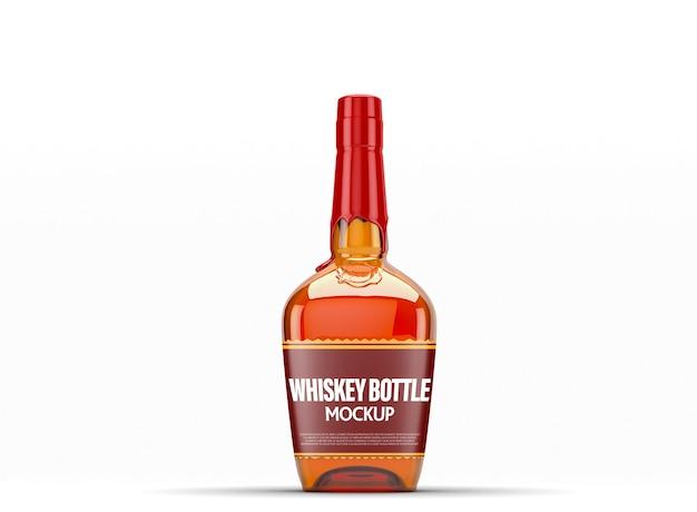 Maquette de bouteille de whisky