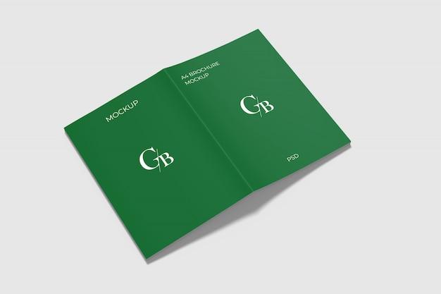 Maquette de brochure a4
