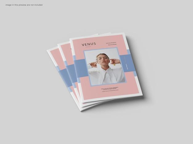 Maquette de brochure de couverture a4