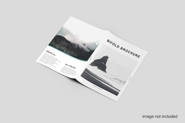 Maquette de brochure à deux volets a4 premium