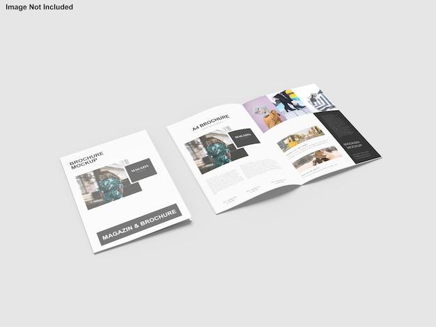 Maquette de brochure de portefeuille d'architecture