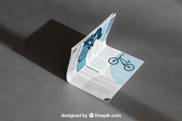 Maquette de brochure