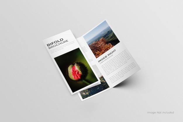 Maquette de brochures dl bifold