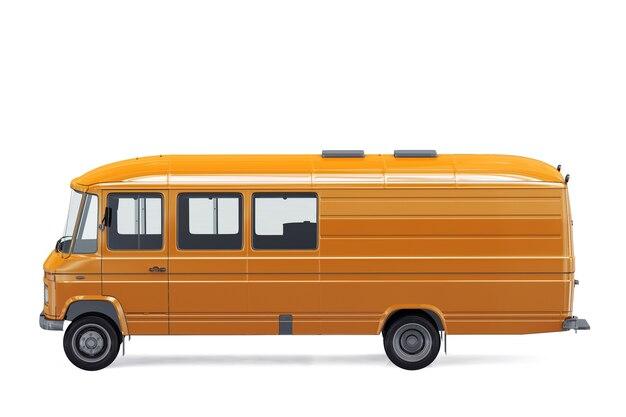Maquette de bus vintage 1978