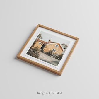 Maquette de cadre en bois