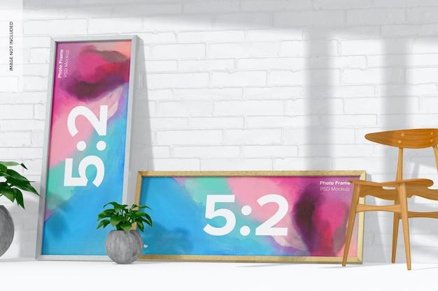 Maquette de cadre photo 5:2