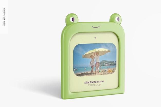 Maquette de cadre photo pour enfants