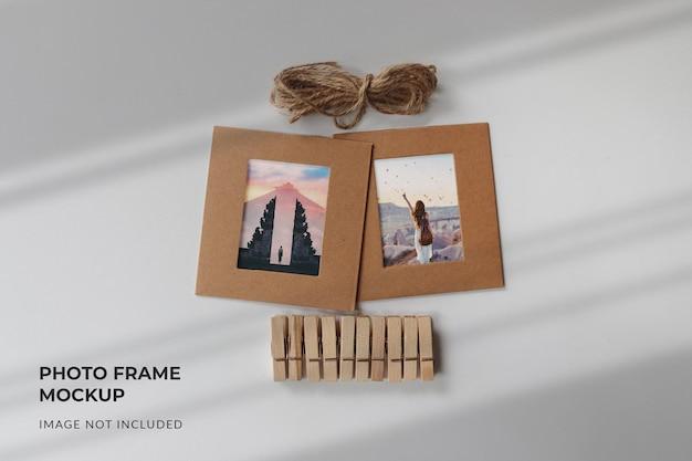 Maquette de cadre photo