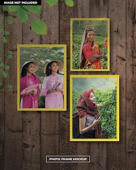 Maquette de cadre zphoto pour femmes
