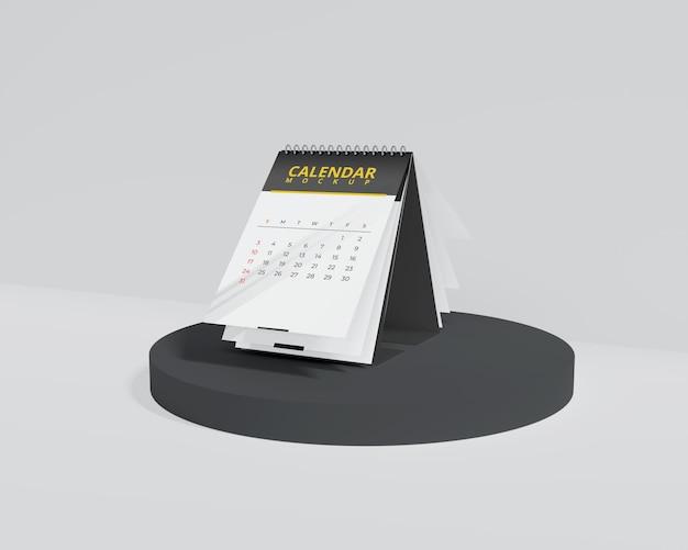 Maquette de calendrier simple