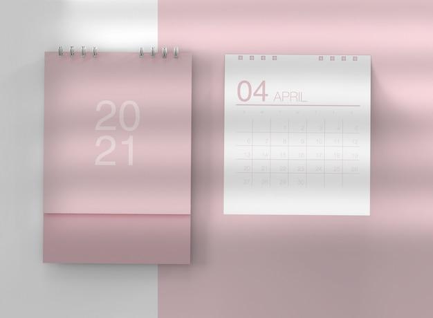Maquette de calendrier