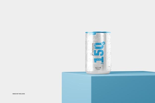 Maquette de canette de soda de 150 ml