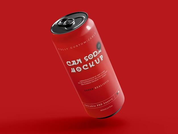 Maquette de canette de soda