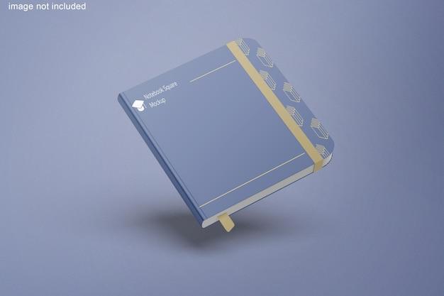 Maquette carrée pour cahier