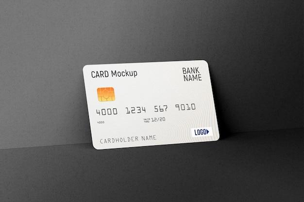 Maquette de carte de crédit en plastique