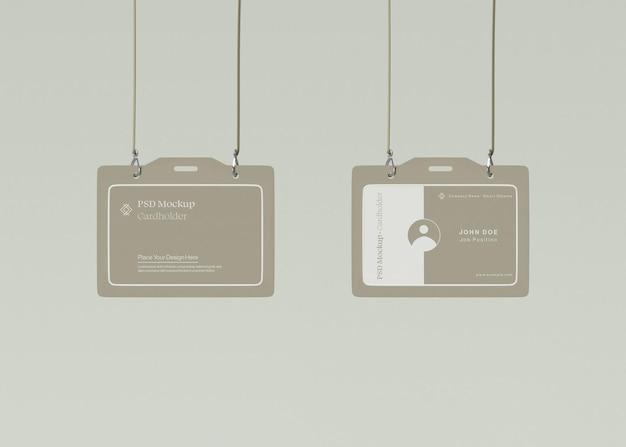 Maquette de carte d'identité