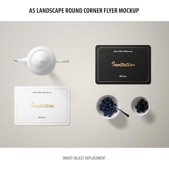 Maquette de carte d'invitation