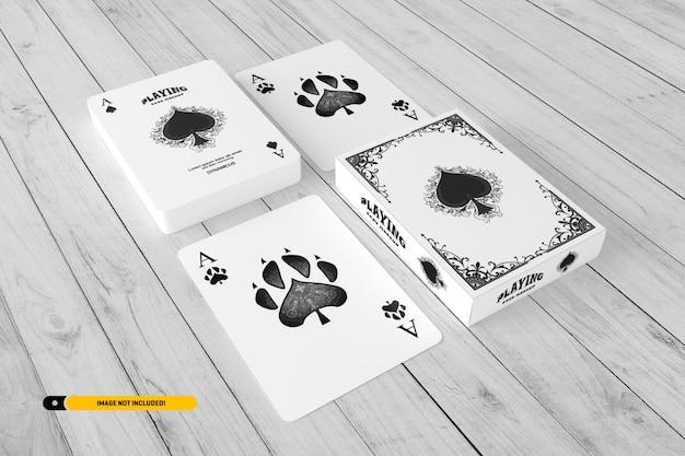 Maquette de carte à jouer