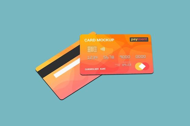 Maquette de carte en plastique de carte à puce de carte de débit