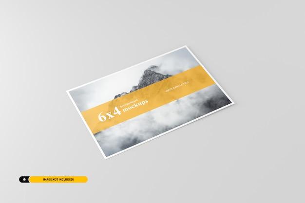 Maquette de carte postale