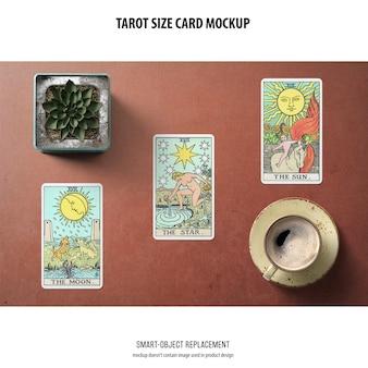 Maquette de carte de tarot