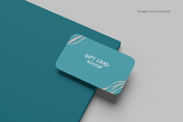 Maquette de carte de visite verte