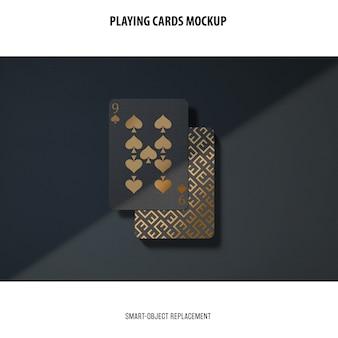 Maquette de cartes à jouer