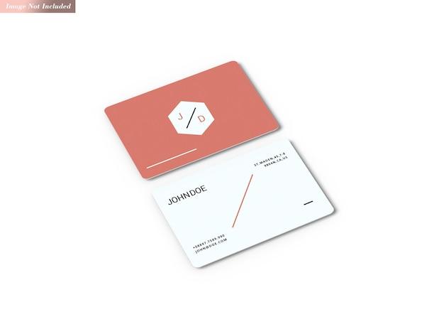 Maquette de cartes de visite
