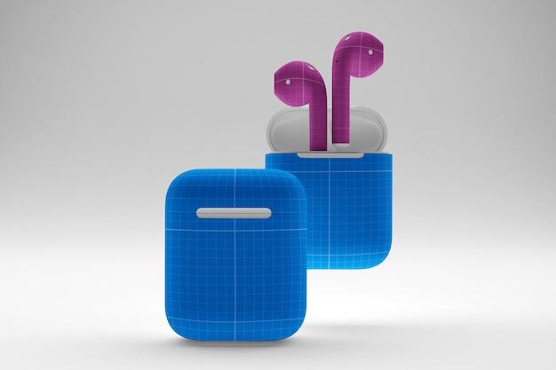 Maquette de cas d'écouteurs