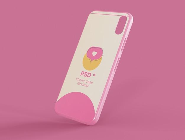 Maquette de cas de téléphone portable