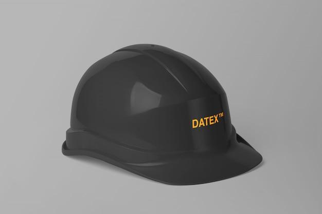 Maquette de casque de chantier