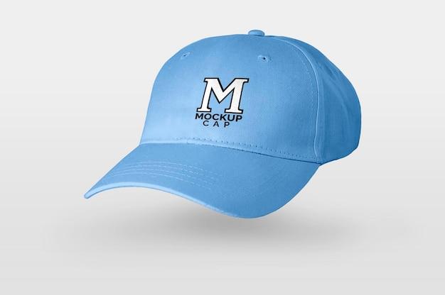 Maquette de casquette bleue