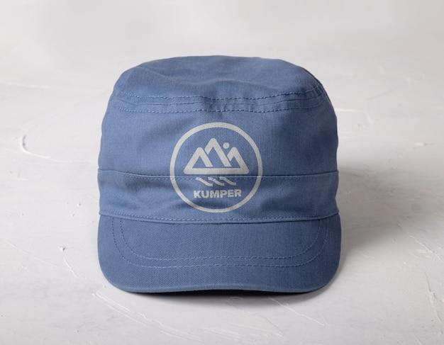 Maquette de casquette isolée