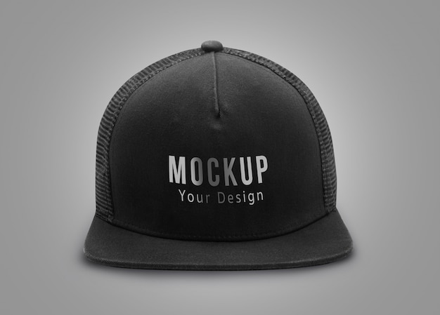 Maquette casquette noire