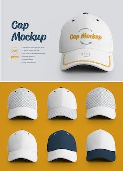 Maquette de casquette