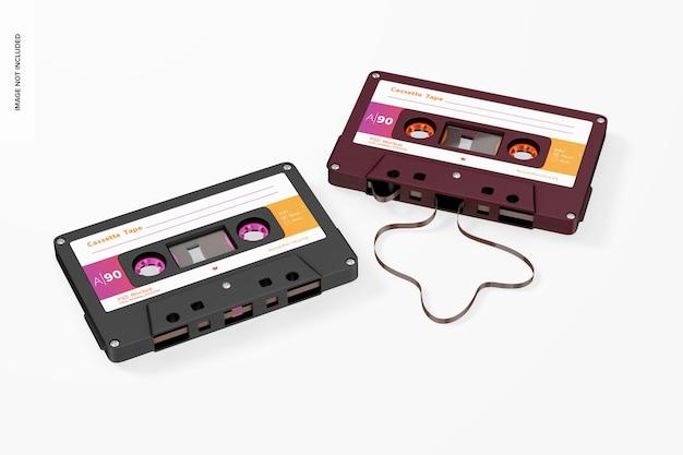 Maquette de cassettes