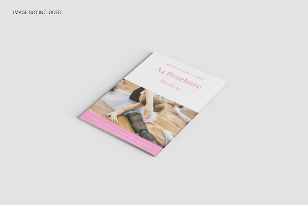 Maquette de catalogue de brochures