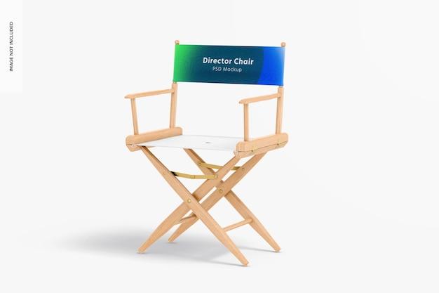 Maquette de chaise de directeur
