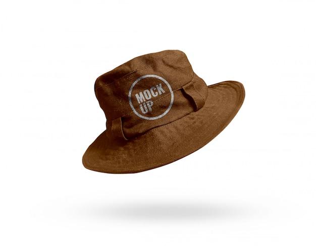 Maquette de chapeau de seau